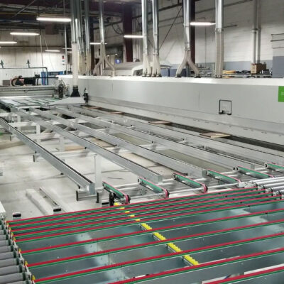 Biesse Stream B MDS panel sizing, squaring and edgebanding line